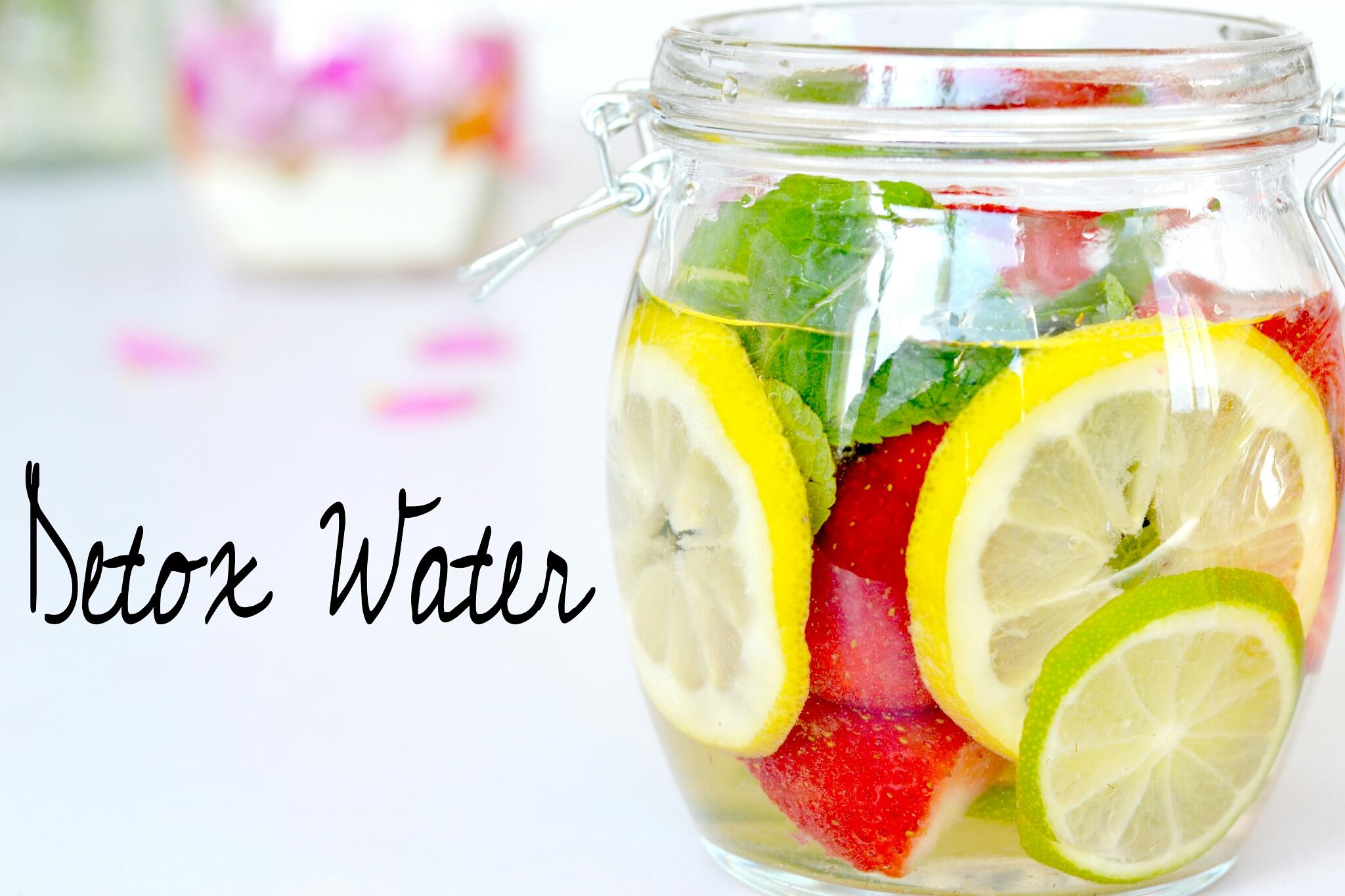 Détox water - Lirons D'elle blog