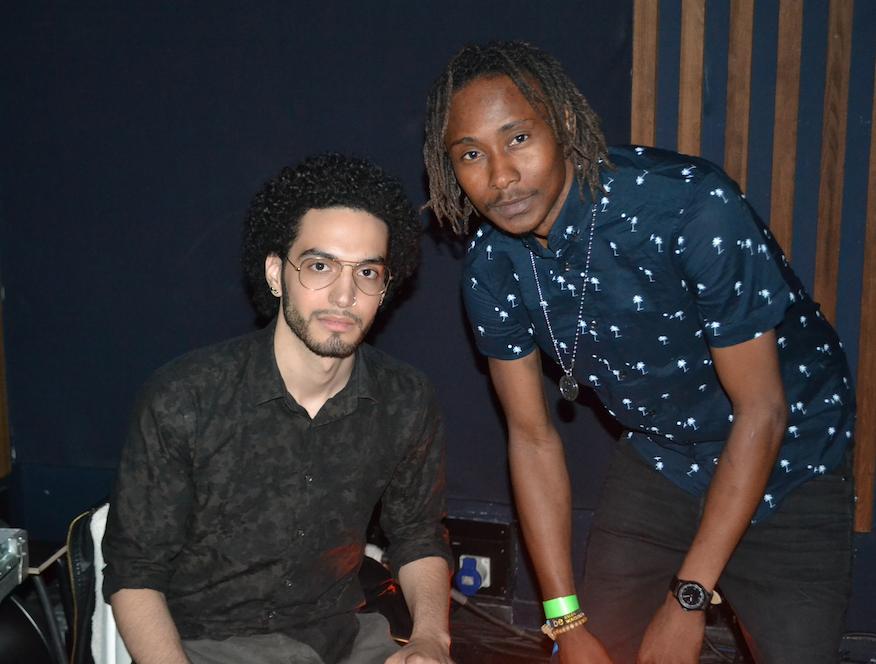 Franck Ben Amou et Ismaël (Crédit photos @bysiors)