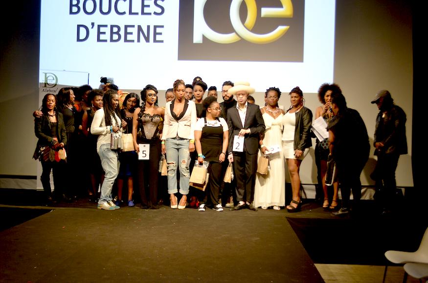 Participants Concours coiffure salon Boucles d'ébènes 2015