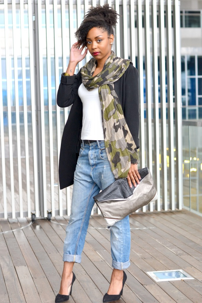 Photo Vanessa Blog Lirons D'elle Look Boyish Chic 1-2
