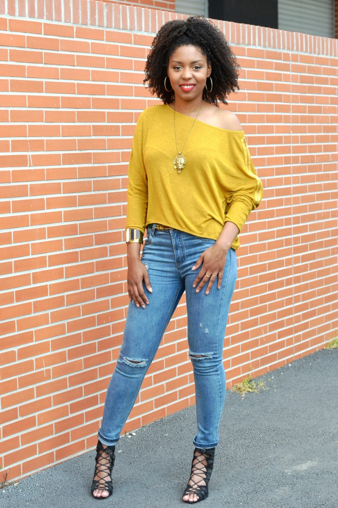 Vanessa Lirons D'elle - Yellow style NHA
