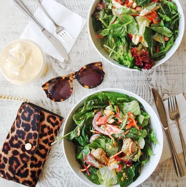Le temps des salades - Lirons D'elle blog