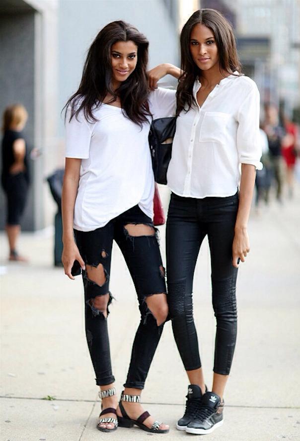 Porter la chemise blanche avec style lirons d 39 elle - Comment porter une chemise femme ...