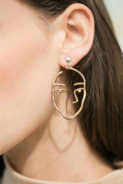face earring